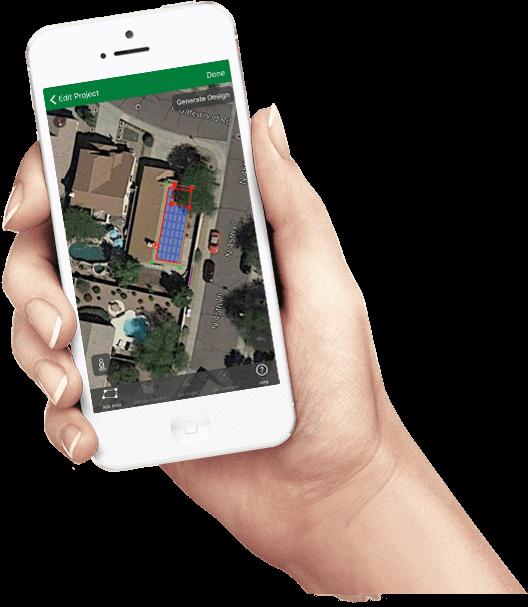 Solar sales app